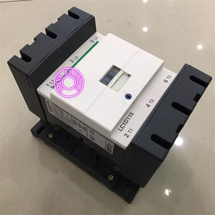 LC1D Series Contactor LC1D115 LC1D115P7 LC1D115Q7 LC1D115R7 LC1D115T7 LC1D115U7 LC1D115W7 277V LC1D115V7 400V / LC1D115Z7 21V AC new cad50bdc dc24v tesys d series contactor control relay 5no 0nc