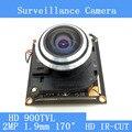 170 широкоугольный рыбий глаз мини HD 900TVL видеонаблюдения модуль камеры + HD ИК-двойной переключатель фильтра