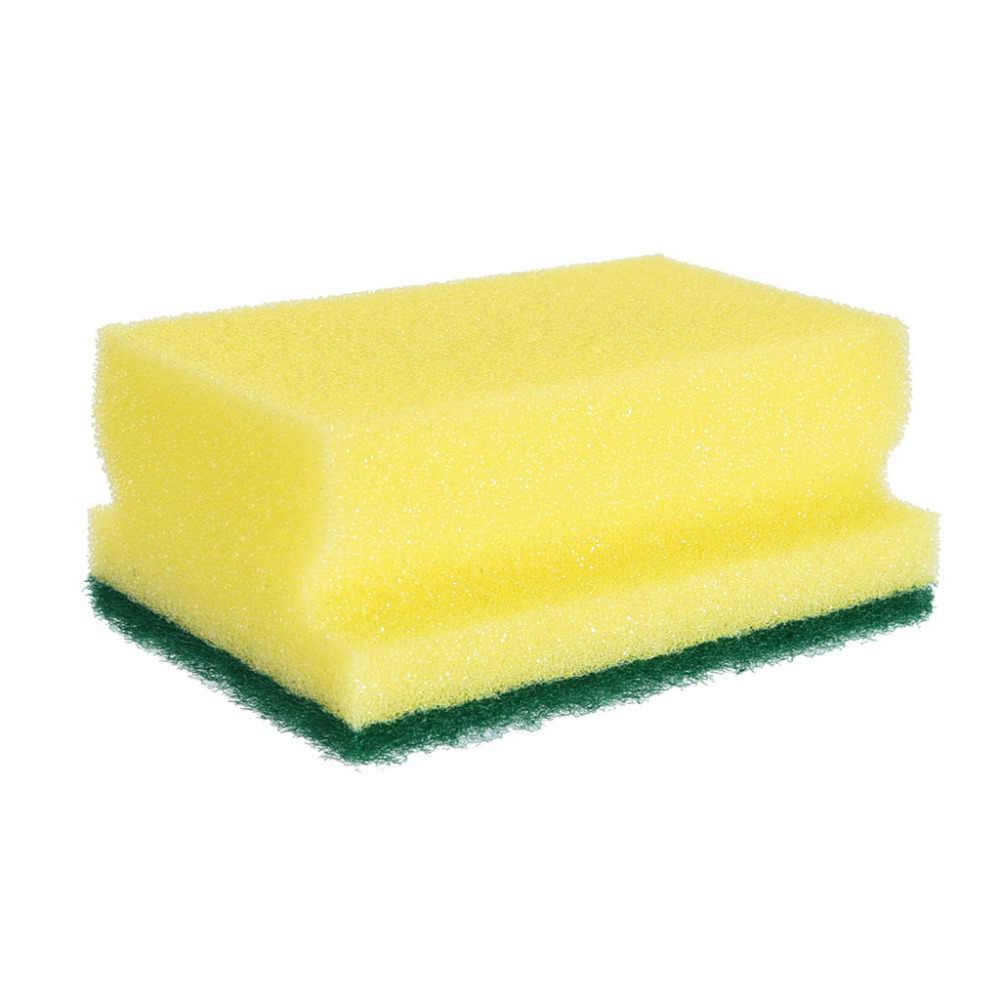 1 Pcs Magic Cleaning Borstels Spons Schotel Kom Schuursponsje Pot Pan Gemakkelijk te schoon Wassen Borstel Keuken # F