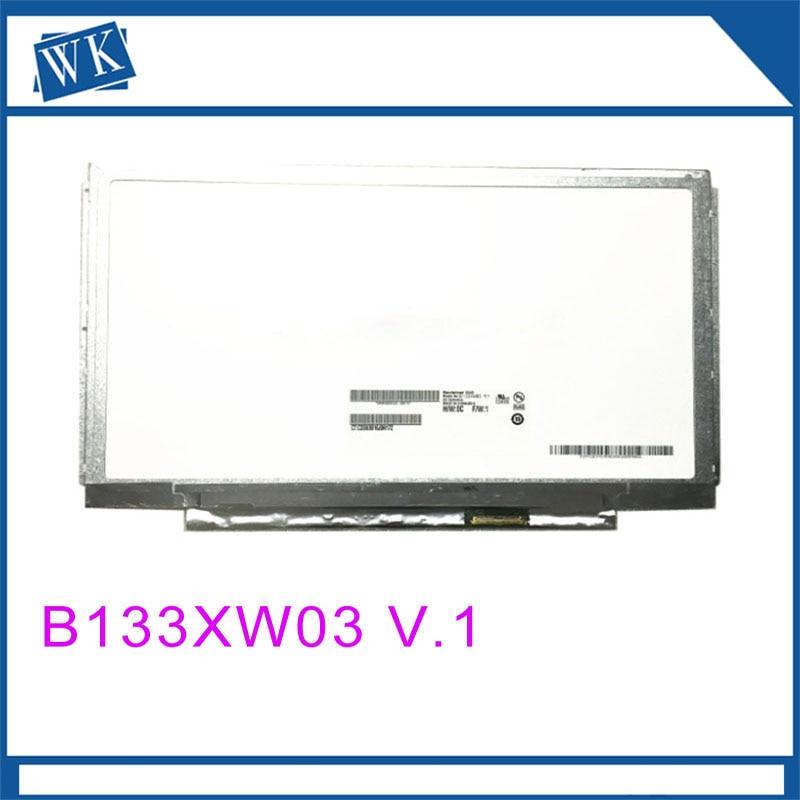 Free shipping B133XW03 V.1 V.0 LTN133AT27 N133BGE-L41 LP133WH2-TLA1 TLL1 for Lenovo IdeaPad U310 U350 LVDS 40pinFree shipping B133XW03 V.1 V.0 LTN133AT27 N133BGE-L41 LP133WH2-TLA1 TLL1 for Lenovo IdeaPad U310 U350 LVDS 40pin
