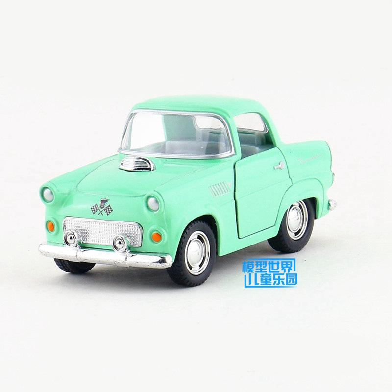 Us 11 05 Free Shipping Kinsmart Toy Diecast Model Q Type 1955 Ford Thunderbird Pull Back Car Educational Collection Gift For Children In Diecasts