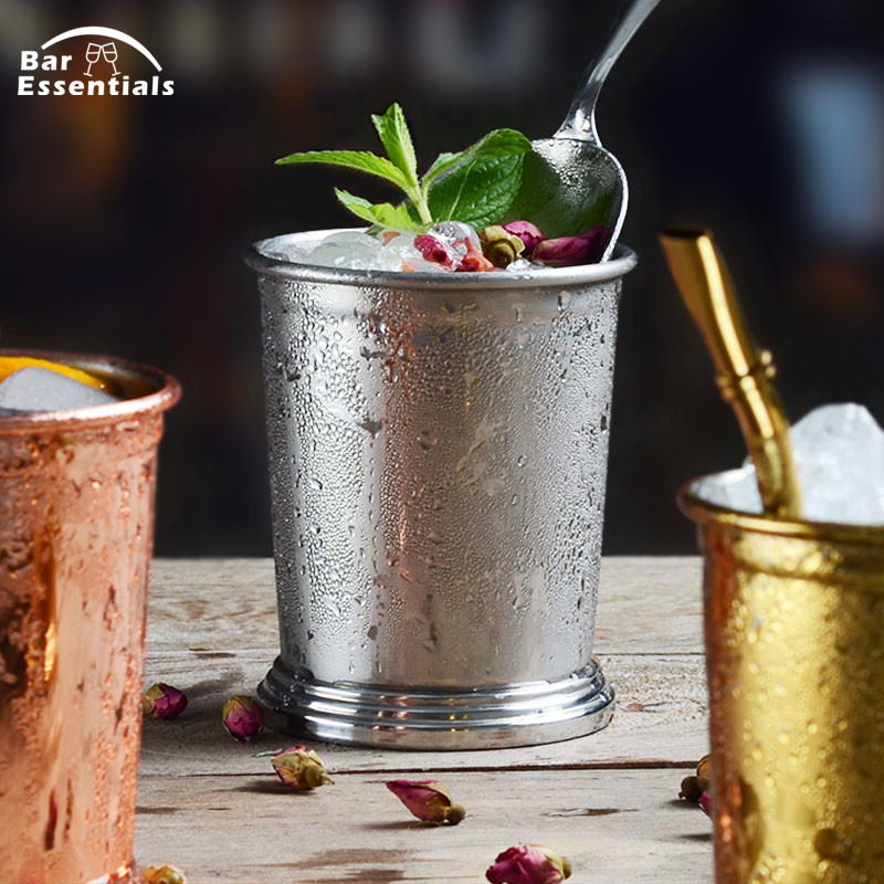400ml Stainless Steel 304 Moscow Copper Mule Mug Julep Cup Beer Cup Drinkware Multi Function Cocktail Cup in Mugs from Home Garden