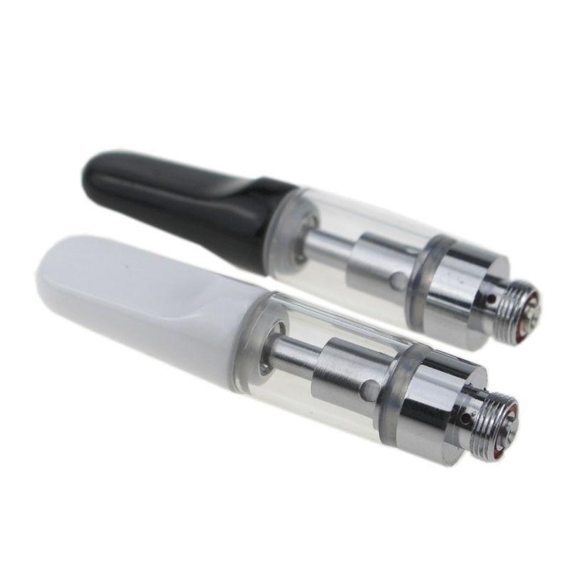 10pcs/lot TH105 Glass Vape Ceramic Cartridge M6T Pyrex Tank Vaporizer Pen Coil Head Drip Tip 510 Thread
