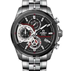 Reloj Hombre Heat Luxury Brand CASIMA Men Watches Military Sport Stainless Steel Band Quartz Watch Male Clock Montre Homme