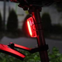 Bike Taillights Intelligent Sensor Turn Signal Brake LED lights Road MTB Seatpost Fork Helmet Rear Rechargeable Smart Light