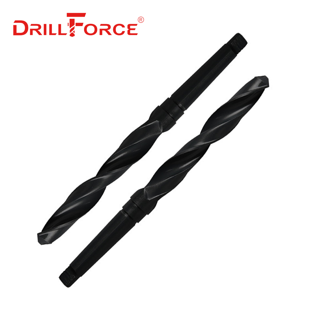 1PC 10mm-65mm HSS Taper Shank Twist Drill Bit(10/10.5/14/15/16/17/18/19/20/21/22/23/24/25/27/30/32/35/40/41/42/45/50/55/60/65mm)