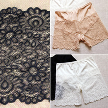 ZOTOONE French Lace Fabric White and Black Ribbon Needlework Accessories Guipure African Elastic Underwear E