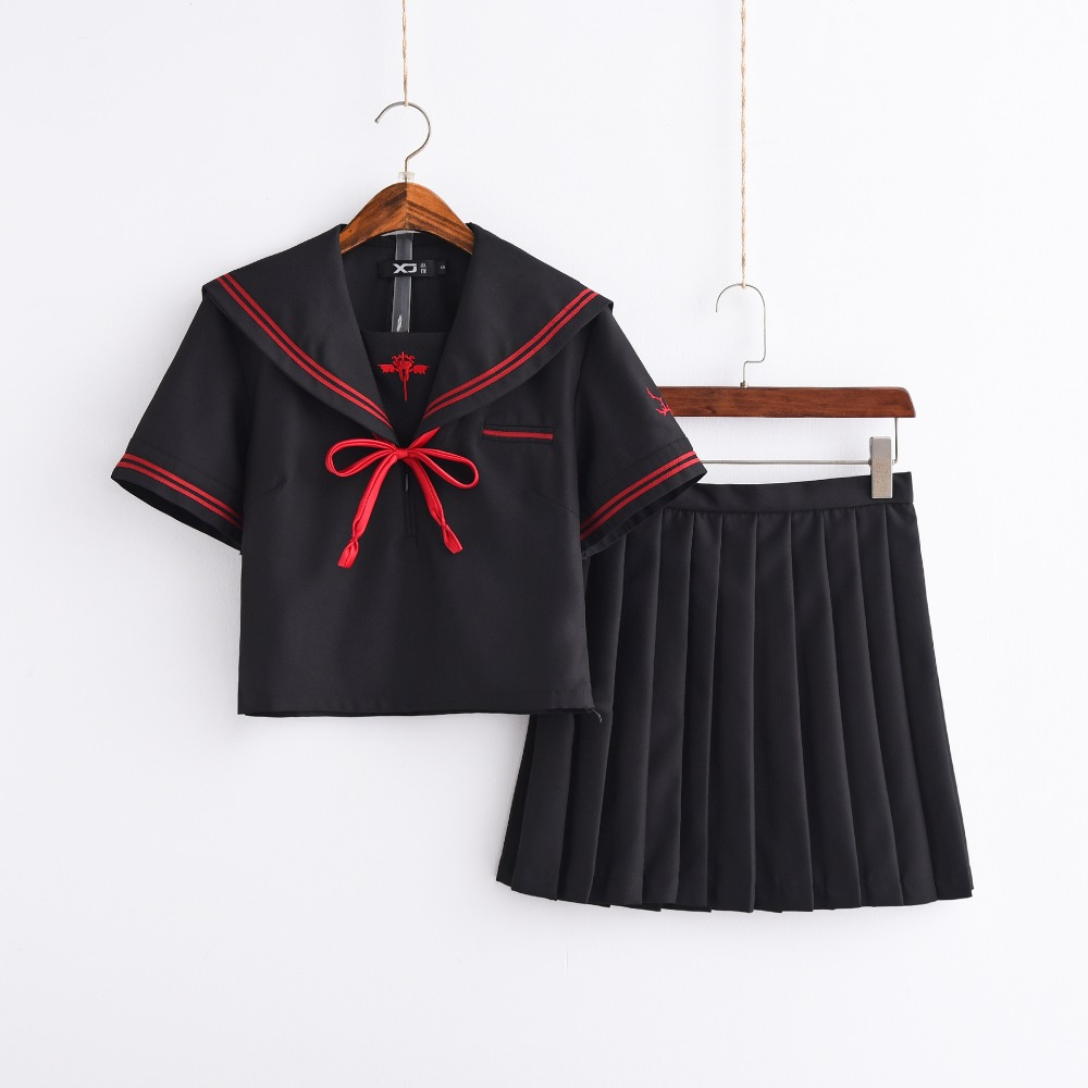 2020 New COS Japanese Anime Uniform High School Girls College Graduation Cosplay Sailor Suits Lolita Uniforms