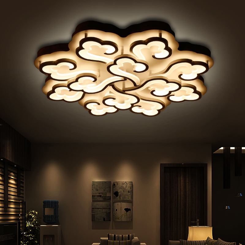 110v 220v cloud ceiling lights led luminaire luminarias. Black Bedroom Furniture Sets. Home Design Ideas