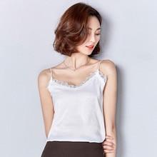 Summer Tops Fashion V Neck Sleeveless Lace Shirt Women Brand Quality Plus Size Solid Blouse Vest Camisa Blusas Femeninas