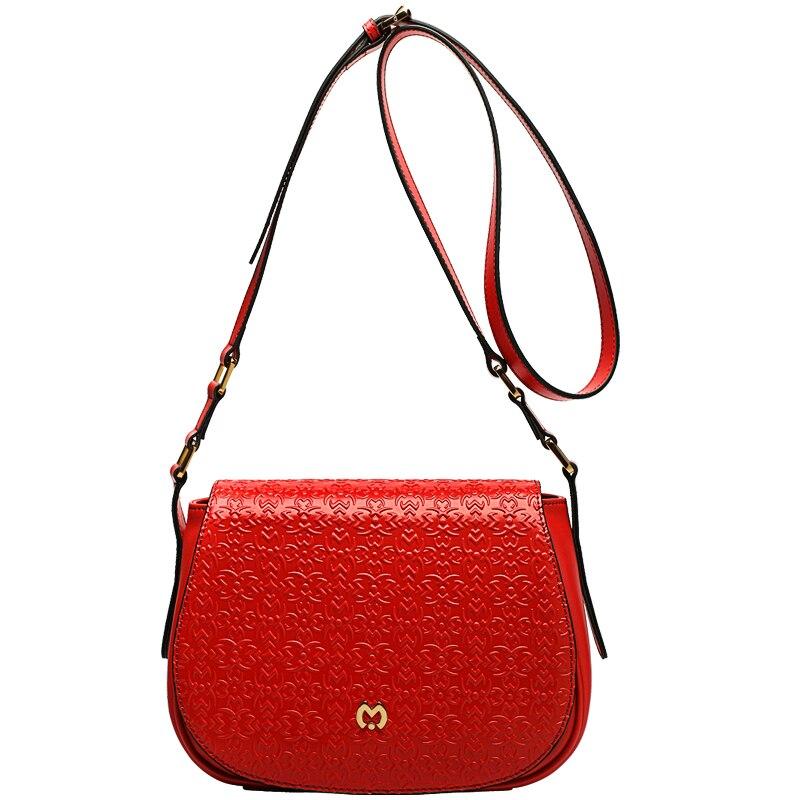 luxury genuine leather bag ZOOLER designer COW leather shoulder bag 2018 new genuine leather woman bag bolsa feminina-BC115 luxury genuine leather shoulder
