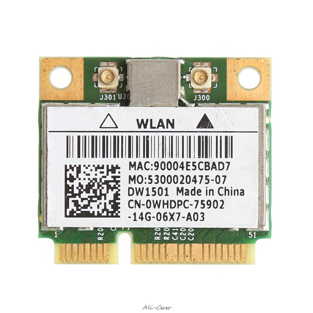 New 150M Wireless Wifi Mini PCI-E Card For Dell DW1501 0K5Y6D Broadcom BCM94313HMG2L
