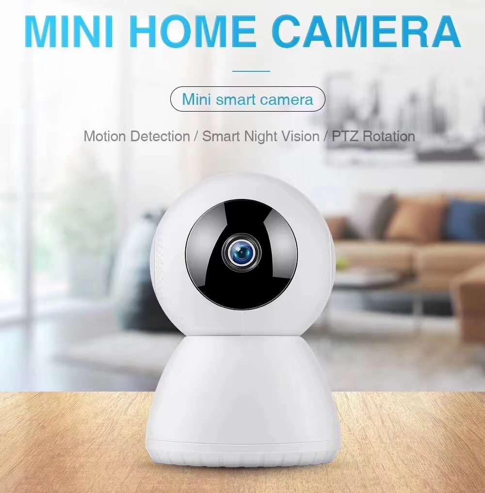 2MP 1080 P détection de mouvement PTZ Rotation sans fil interphone caméra IP