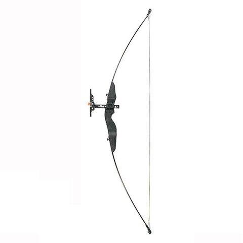 30 40 libras em linha reta puxar arco 55 polegadas com arco vista resina de