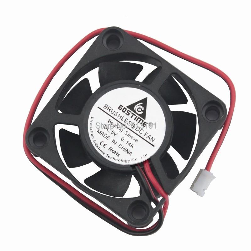 5pcs Ultra-silent DC 12V 40mm Brushless Cooling Fan for Desktop Computer PC