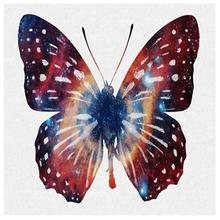 Big Butterfly 5D Diamond Painting DIY Kit Round Drill Cross Stitch Embroidery Picture Home Decor Craft Mosaic Painting