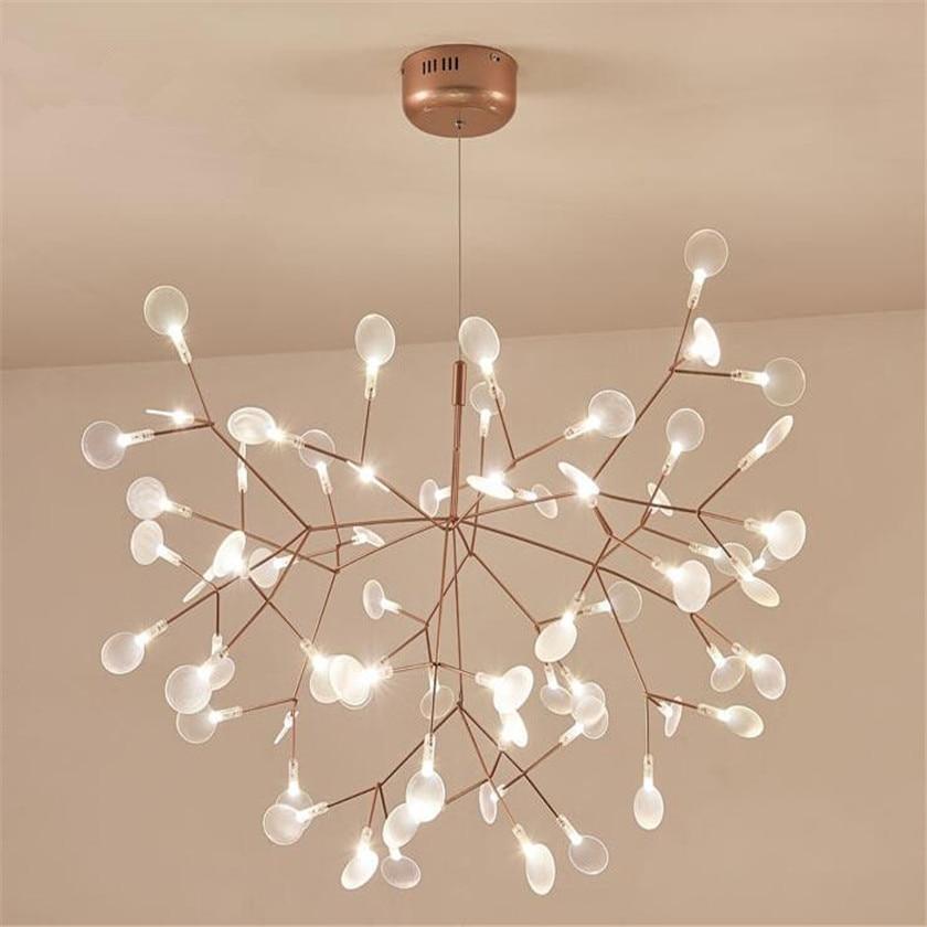 Neue Design Acryl Moderne Kronleuchter G4 Led Kronleuchter Decke Luminaria  Für Schlafzimmer Wohnzimmer Ausgesetzt Lampe Firefly Glanz