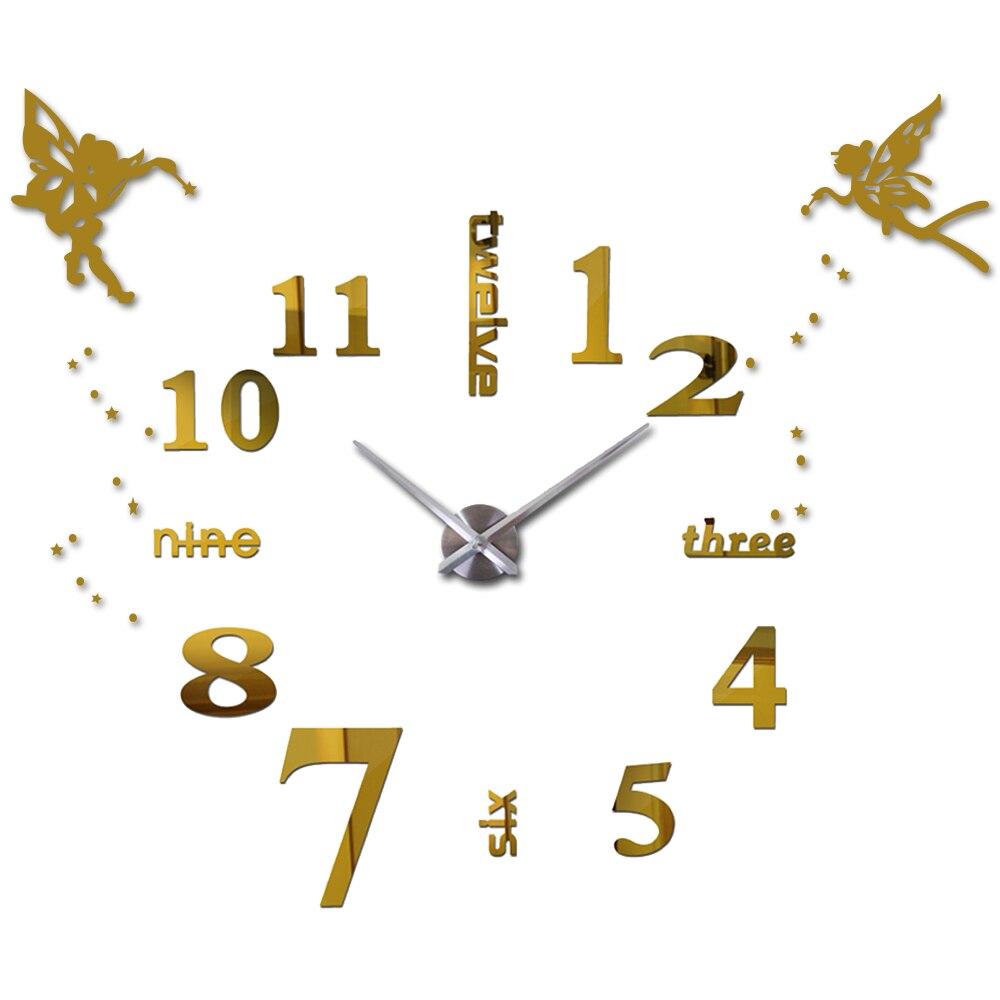 Ali di angelo Principessa Araba Digitale Orologio Da Parete Moderno ...