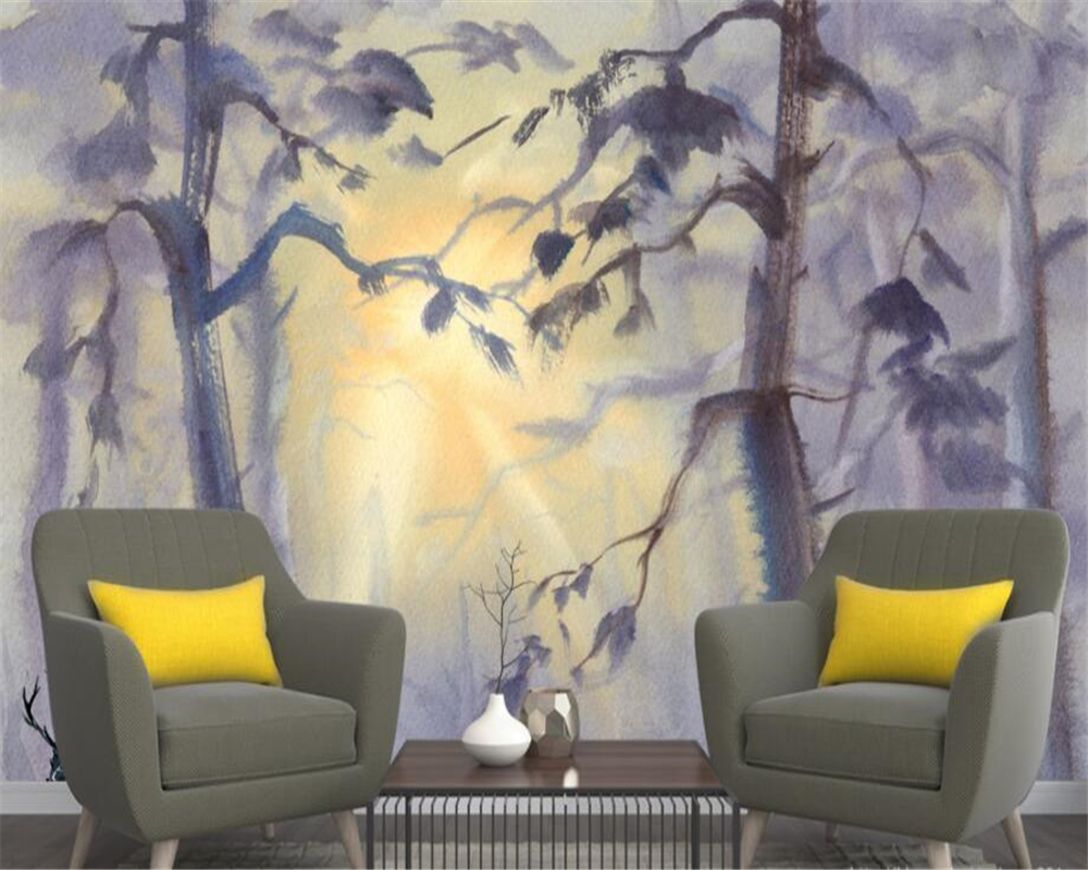 Beibehang Custom wall wallpaper living room bedroom murals Nordic ...