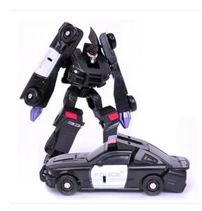 Image 4 - 1 pcs 변환 어린이 클래식 로봇 자동차 완구 어린이 액션 & 장난감 피규어 무료 배송
