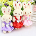 12 unids/lote Siqi Coreano diamante conjunta oso de peluche muñeca de oso de dibujos animados Winnie the dulces al por mayor de materiales de embalaje ramo