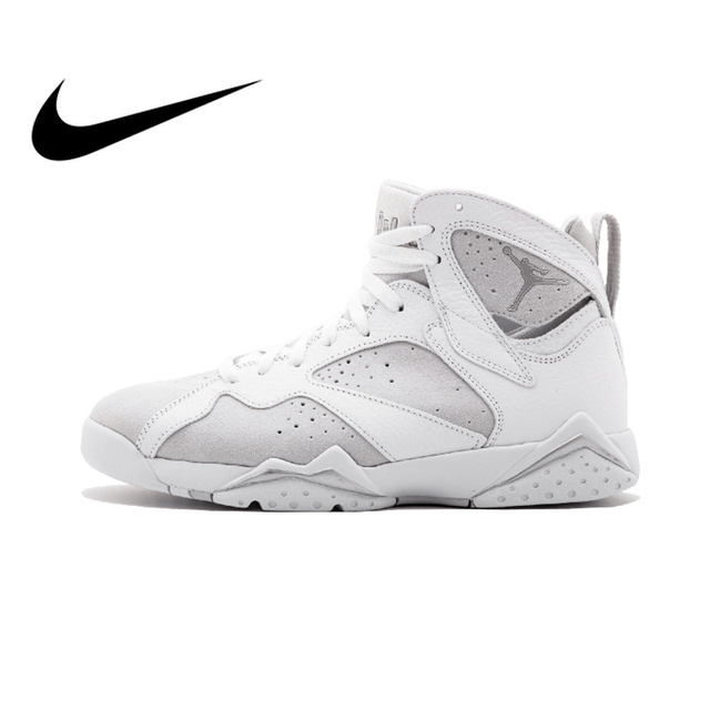 official photos 91d23 57dc8 Original Authentic NIKE Air Jordan 7 Retro AJ1 Mens Basketball Shoes  Sneakers DXM Thread Sport Outdoor Good Quality Breathable