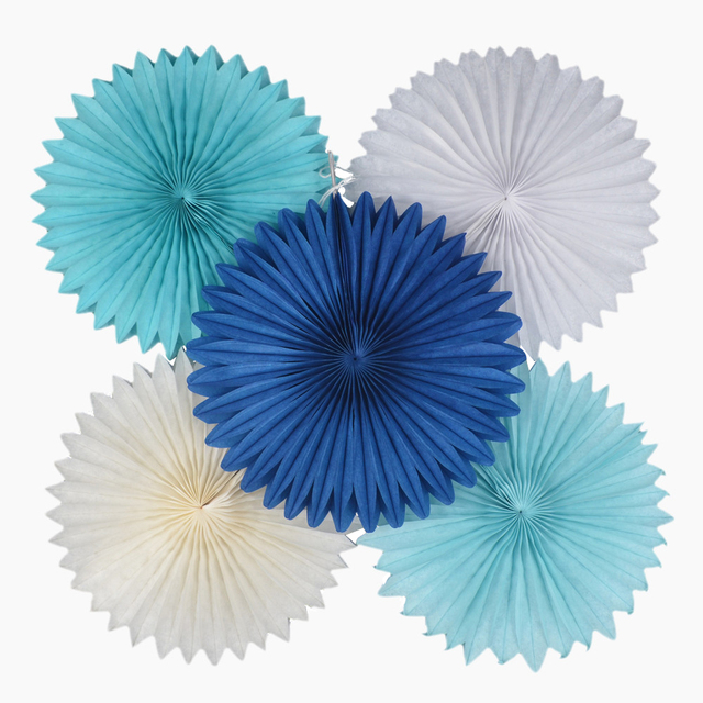 Different Size Hanging Tissue Honeycomb Paper Fans Party Background Decorations Wedding Birthday Christmas Decor