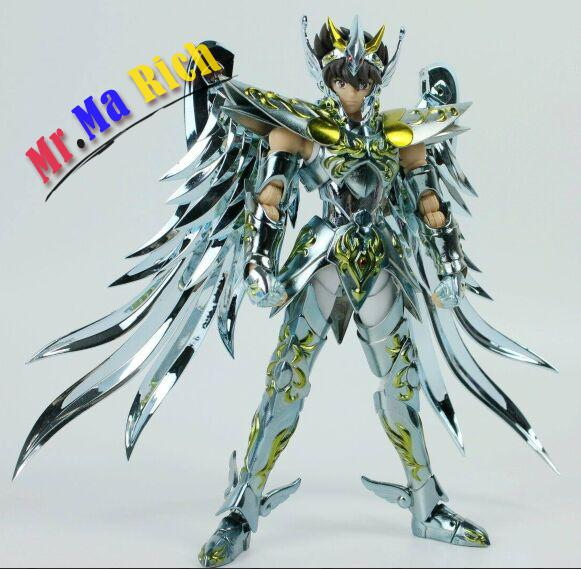In Stock Great Toys Pegasus Seiya V4 Gt Ex God Cloth Ex Metal Armor Bronze Saint Seiya Action Figure Toy защита картера и кпп rival для lexus nx 300h 333 3206 1