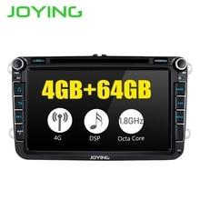 8 «unité principale DSP Android8.1 autoradio stéréo pour Volkswagen VW Passat Skoda Golf GPS Navigation pas de lecteur DVD intégré 4G Modem