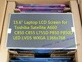 """15.6 """"pantalla lcd del ordenador portátil para toshiba satellite a660 c850 c855 l755d p850 p850d led lvds wxga 1366x768"""