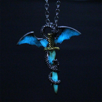 Luminous Dragon Sword Pendant