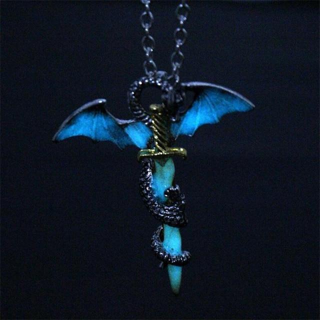 Luminous Dragon Sword Pendant
