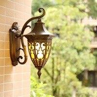 HAWBERRY LED Im Freien Wasserdichte Kreative Hof Bar Wand Lampe Hause Retro Amerikanische Innen Treppenhaus Gang Korridor Licht-in Outdoor-Wandlampen aus Licht & Beleuchtung bei