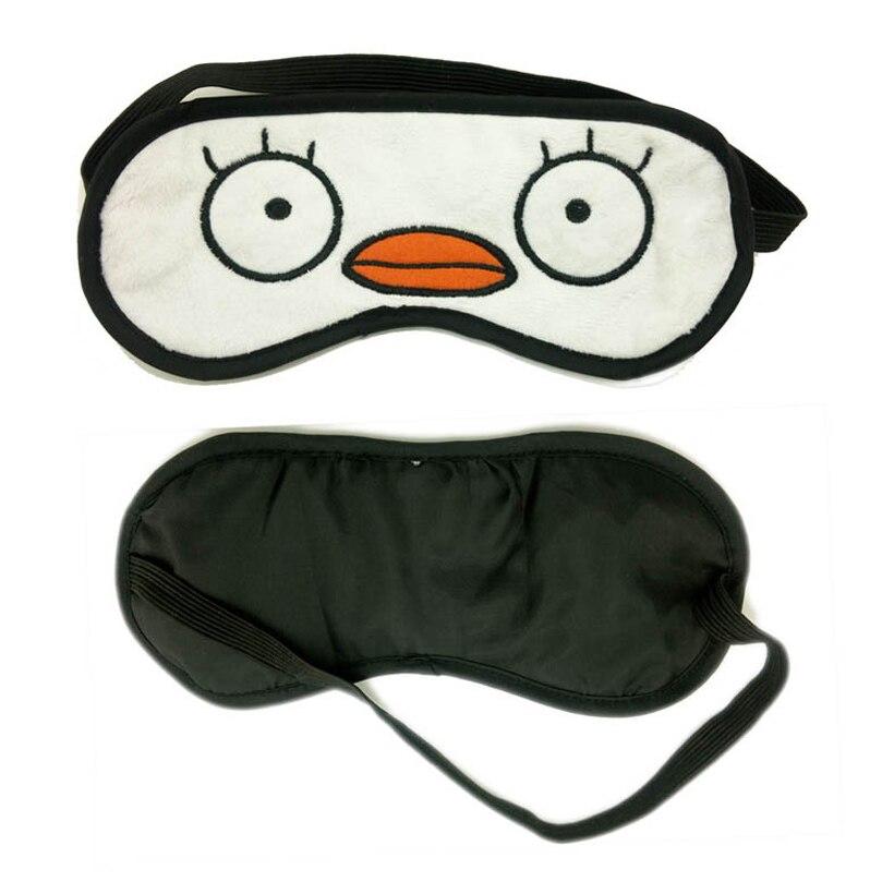 Gintama Sleep Mask Natural Sleeping Eye Mask Eyeshade Cover Shade Eye Patch Women Men Soft Portable Blindfold Travel Eyepatch
