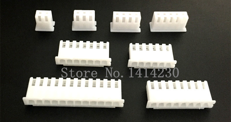 XH2.54 Connector Leads Header Housing 2.54mm Plastic shell XH-2P/3P/4P/5P/6P/7P/8P/9P/10P XH2A/3A/4A/5A/6A/7A/8A/9A/10A 100pc dupont sets kit with box 1p 2p 3p 4p 5p 6p 7p 8p 9p 10pin housing plastic shell terminal jumper wire connector set