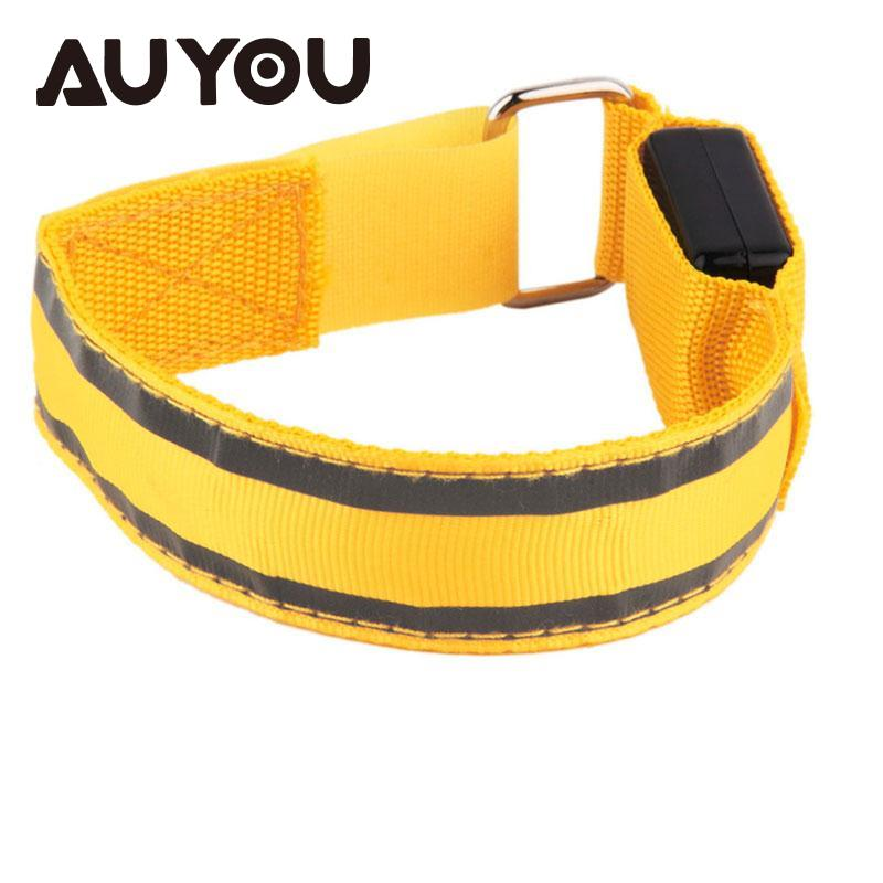 AUYOU Warmer Armband LED Sports Belt Safety Harness