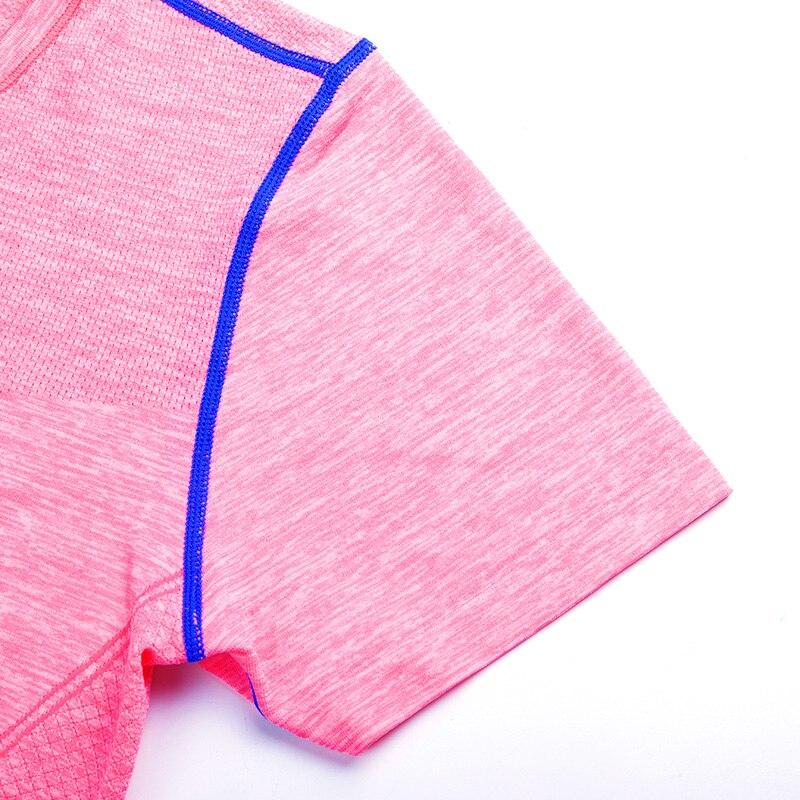 Kolorowe Kobiety Fitness Sportowa Koszula Z Paskiem Drukowane Jogi - Ubrania sportowe i akcesoria - Zdjęcie 6