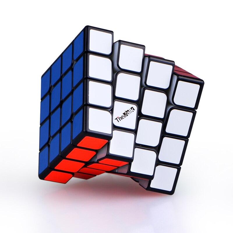 Nouveau QiYi valk 4 M 4x4x4 magnétique magique vitesse Cube sans autocollant professionnel aimants Puzzle Cubes Valk4 M Valk 4 M - 4