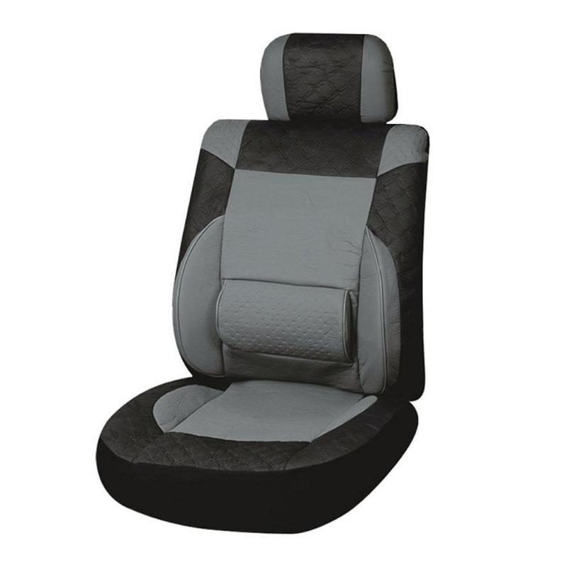 Tirol Cushion-Set Auto-Interior-Headrest-Covers Waist-Support Car-Styling Universal Front