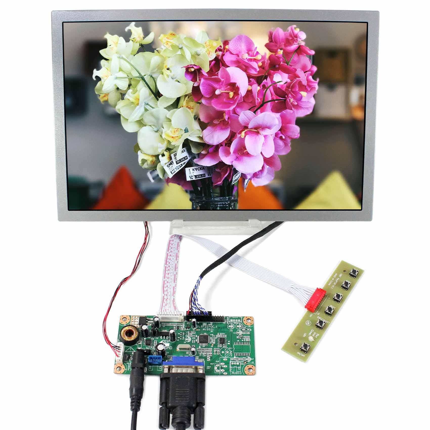 VGA LCD Controller Board 12.1inch 1280x800 AA121TD02 LCD Screen vga lcd controller board 10 1b101ew05 1280x800 lcd screen