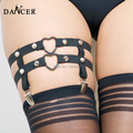 Sexy bondage garter belt leg thigh garters bondage harness  Fetish Lingerie  women  P0047