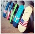 5 cor Quente e confortável algodão menina meias das mulheres tornozelo baixo femininas invisível cor menina menino meias 1 pair = 2 pcs WS802