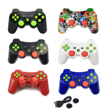 xunbeifang  8pcs wireless virration Bluetooth Game Controller  for PS3 Wireless Controller  Joystick Gamepad