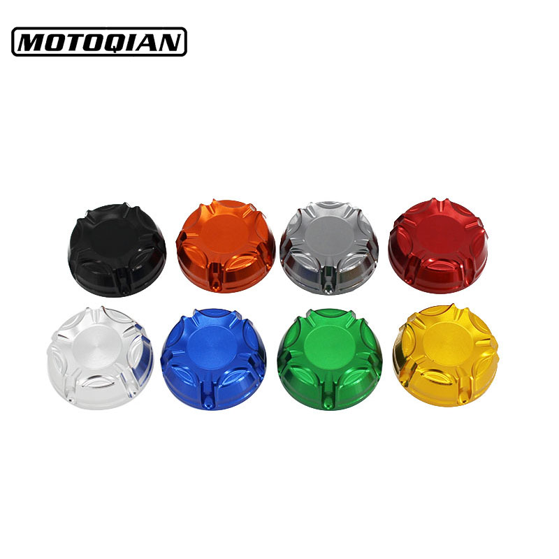 Motorcycle Accessories Brake Fluid Oil Reservoir Cap Cover For Suzuki GSX 250 GSR 600 GSXR GN 250 GSR 750 GSXR 600 GN 125 GN125