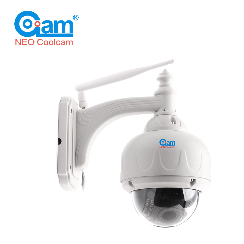 COOLCAM NIP-31FX Pan tilt HD IP Camera 720P Wifi Wireless Megapixel IP Cam Network Surveillance Built In 8G SD Card neo coolcam hd 720p megapixel dome ip camera wifi pan tilt rotate p2p wireless support sd card ir night vision two way audio