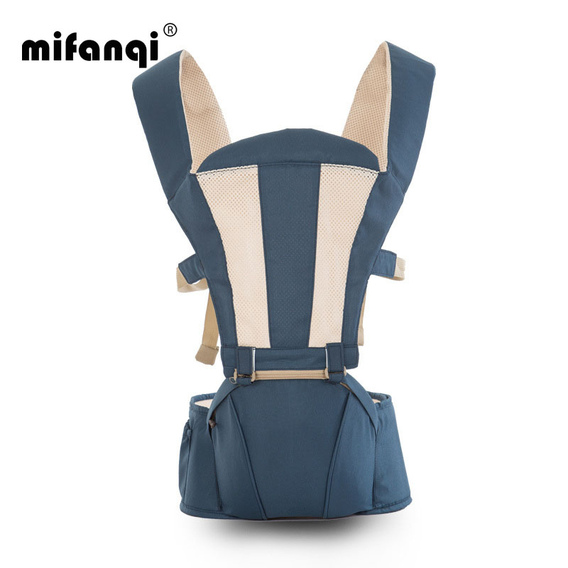 MIFANQI Baby Carrier Cover 4-6 Months Kangaroo Baby Wrap Front Facing Cotton Backpacks & Carriers Tabouret Porte Bebe Hipseat baby carrier 4 6 months front carry portabebes manduca cotton