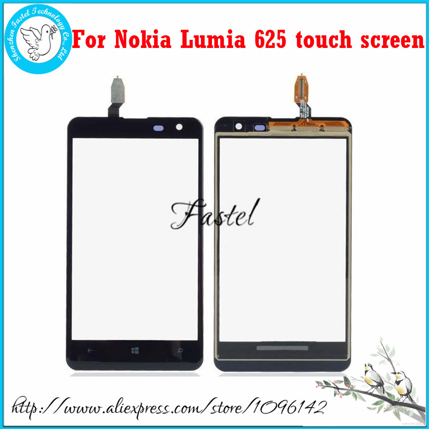 For <font><b>Nokia</b></font> <font><b>Lumia</b></font> <font><b>625</b></font> Original <font><b>Touch</b></font> <font><b>Screen</b></font> Digitizer <font><b>Touch</b></font> Glass Outer Front Panel With <font><b>Sensor</b></font> Replacement not LCD Display image