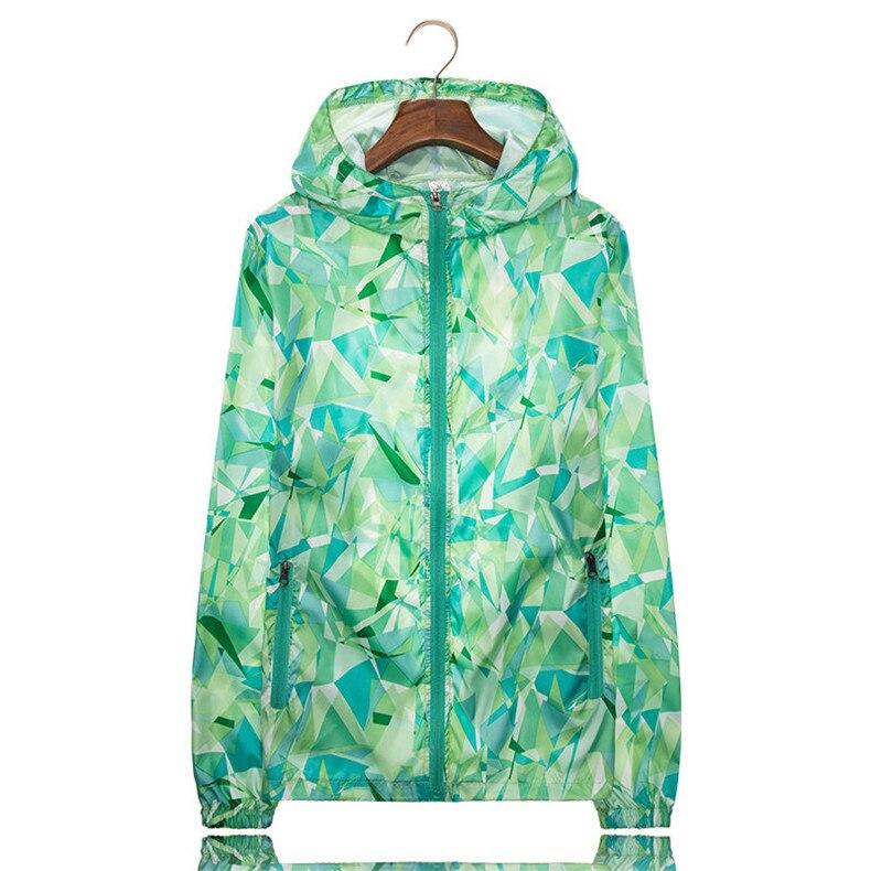 Couple Windbreaker Jackets Women Men Spring Summer Unisex Coats Women Plus Size Casual Sunscreen Clothing Ultrathin Rainproof 16