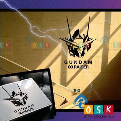 Pegatina Anime Cartoon Car Sticker SEED GUNDAM RAISER Vinyl Wall Stickers Decal Decor Home Decoration