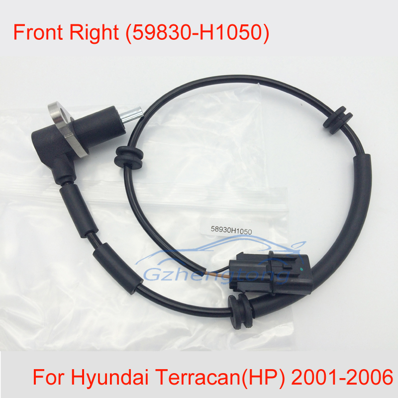 ABS Wheel Speed Sensor Front Right Fits Hyundai Terracan 59830-H1050